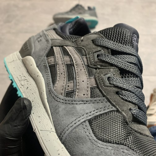 Кроссовки зимние мужские Asics Gel Lyte III Mid Grey Mint • Space Shop UA