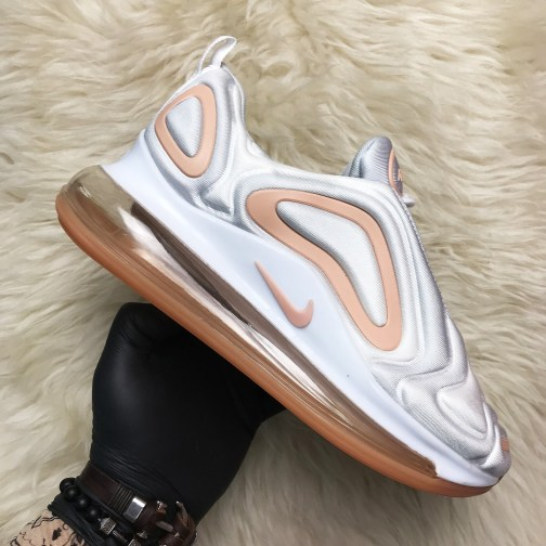Женские кроссовки Nike Air Max 720 White Peach • Space Shop UA