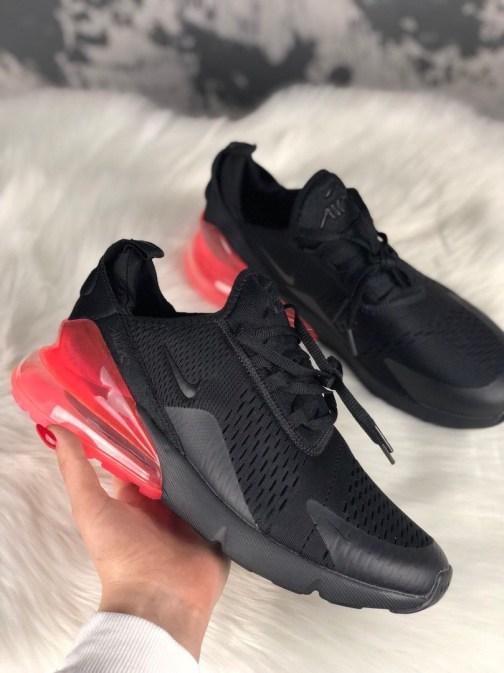 Мужские кроссовки Nike Air Max 270 Black Hot Punch • Space Shop UA
