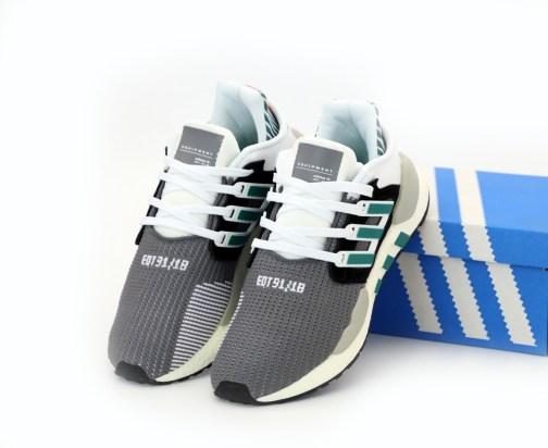 Кроссовки мужские Adidas EQT Support 9118 Core Black Sub Green