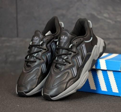 Кроссовки мужские Adidas Ozweego Black Onix