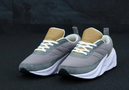 Кроссовки унисекс Adidas Sharks Brown Grey White • Space Shop UA