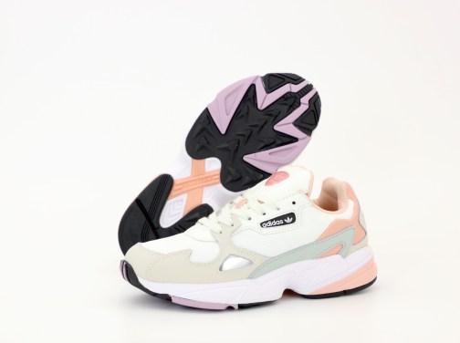 Кроссовки женские Adidas Falcon Pink and White • Space Shop UA