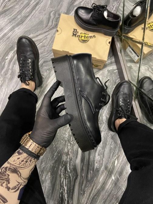 Dr Martens 1461 Platform Mono Black (Черный) • Space Shop UA