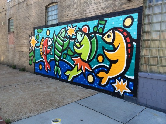 An example of Craig Downs' work. This piece is right across the street from our studio in the Grove.