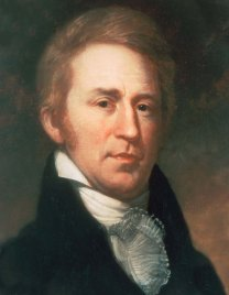 William Clark, from the Lewis & Clark expedition. He was an elderly 33 years old when he left St. Louis to head west.