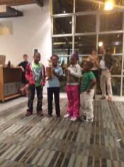 The winning team, Adams Elementary.