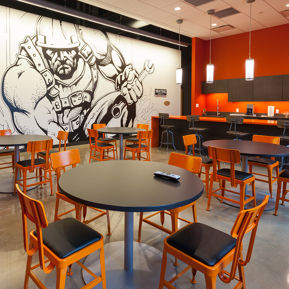 beautiful our work with restaurant interior decoration