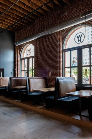 Cupples 8 is a natural beauty: brick, wood beams, and large windows.