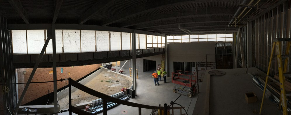View from the mezzanine.