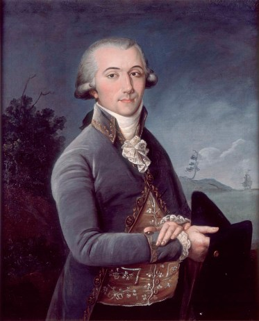 Pierre Laclede was the French fur trader who founded St. Louis in 1764. Common law husband to Marie-Therese Bourgeois Chouteau.
