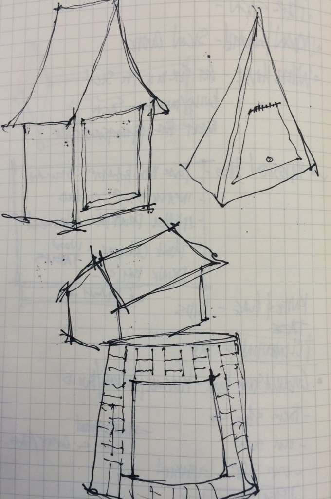 Little Free Library sketches.