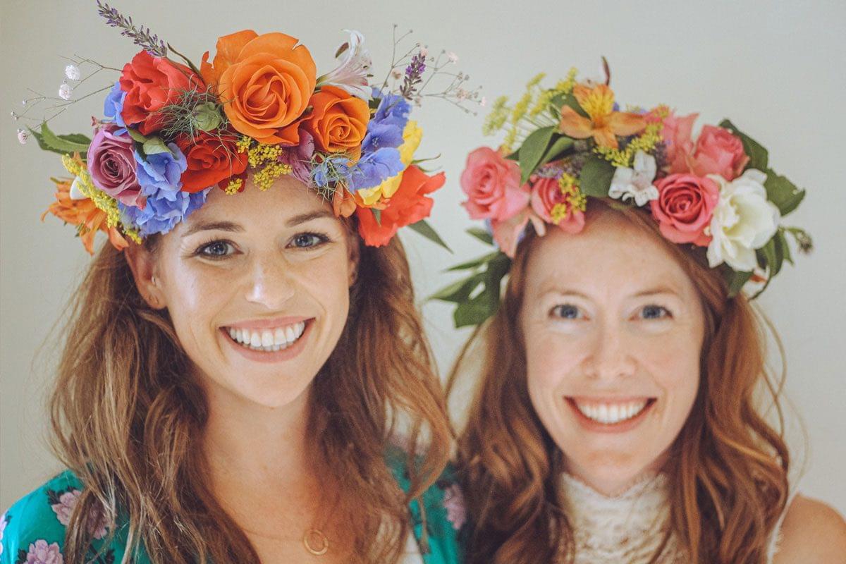 Hen Party | Flower Crown Workshop