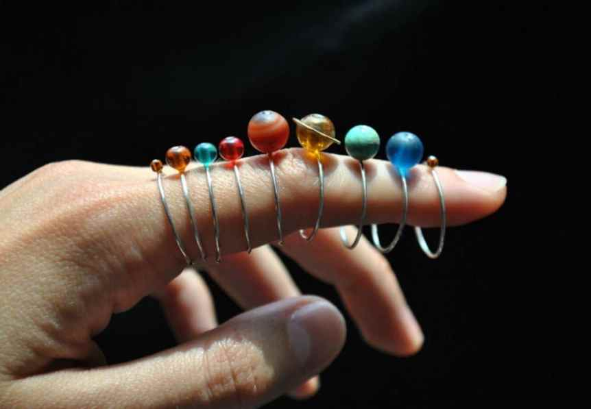 Space Gifts: Solar System Rings