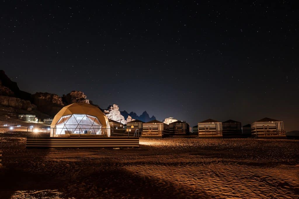 Stargazing in Jordan: Wadi Rum Sun City Camp