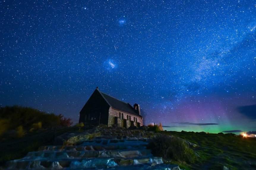 Aurora in New Zealand - Pixabay