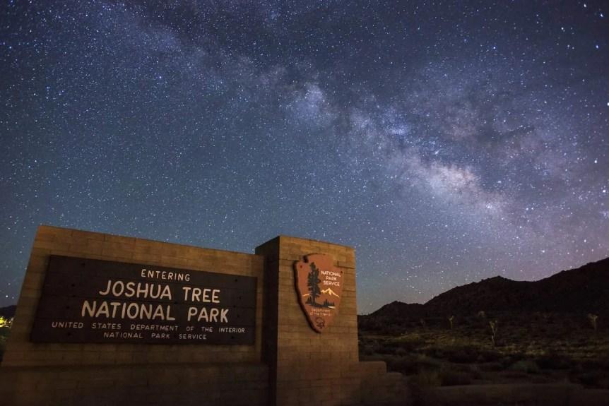 Stargazing in Joshua Tree National Park - NPS/Lian Law