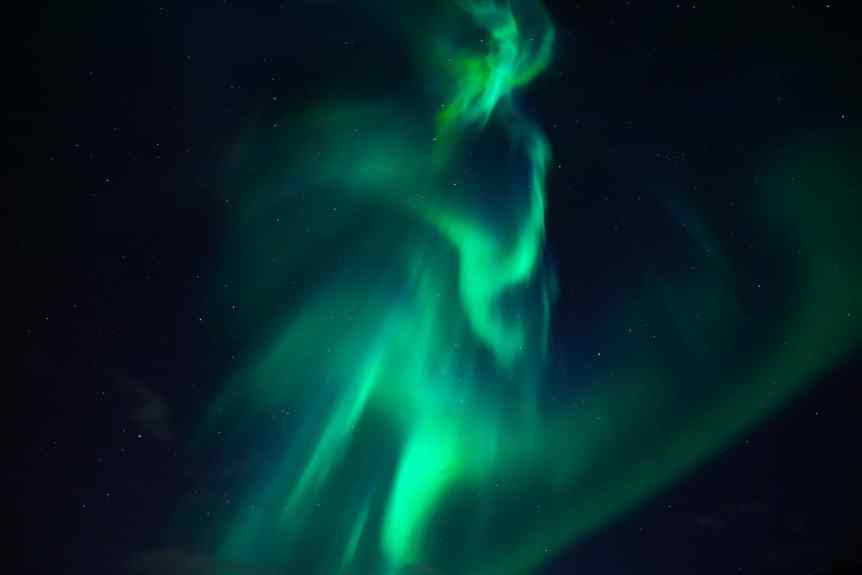 Southern Lights in South America