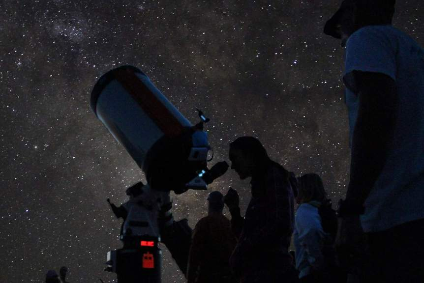 Stargazing in Arizona - National Park Service via Flickr