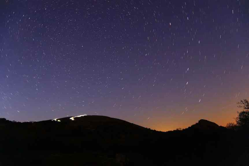 Stargazing in Austin - Entchanted Rock - BevoStevo via Flickr