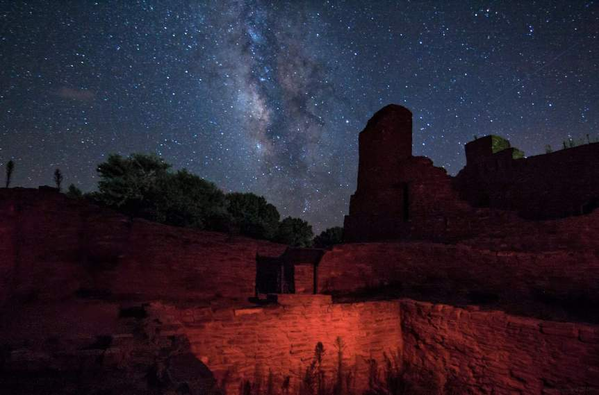 Stargazing in New Mexico - Salinas Missions National Monument - AmyM Howard via Flickr