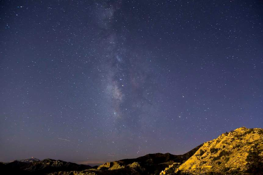 Stargazing near Las Vegas - Red Rock Canyon National Conservation Area - BLM Nevada via Flickr