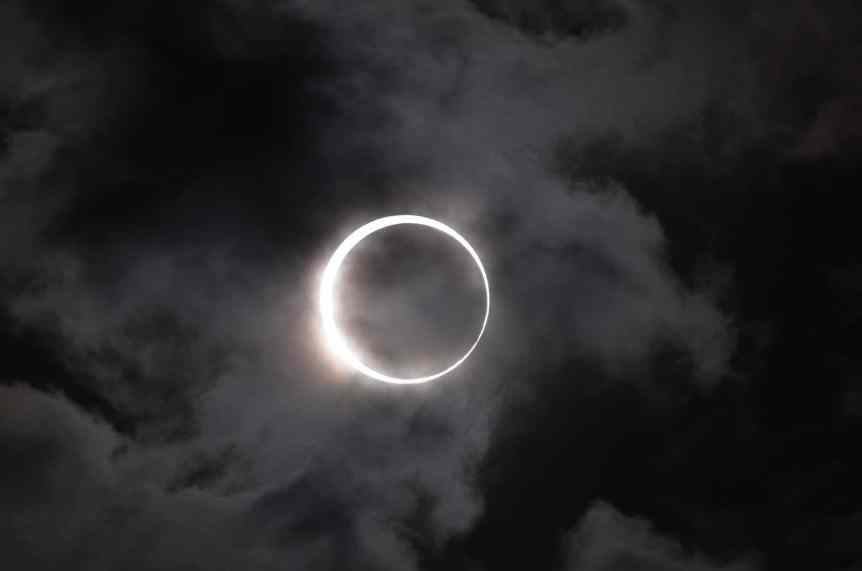 Annular Solar Eclipse - Takeshi Kuboki via Flickr