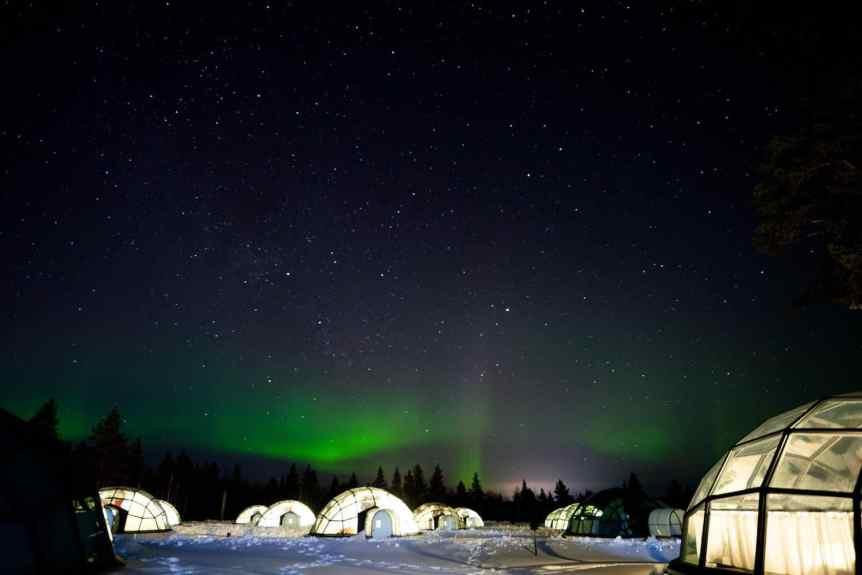 Northern Lights in Finland - Kakslauttanen - Kaba via Flickr
