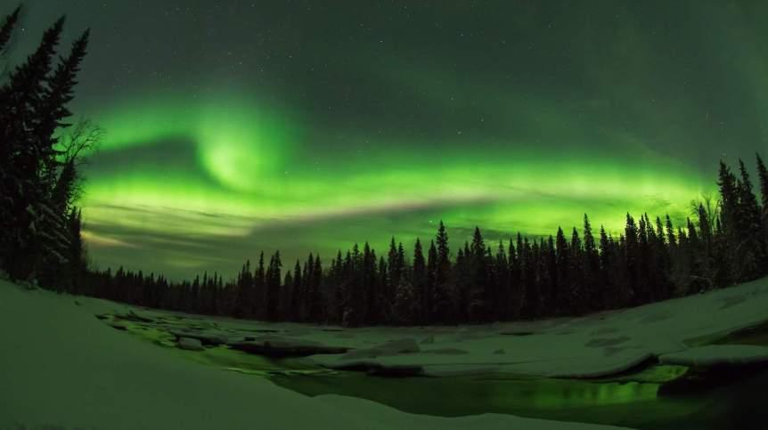 Northern Lights in Finland - Rovaniemi - Hühnerauge via Flickr