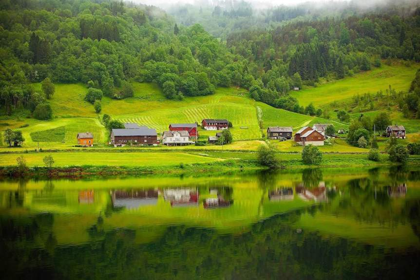 Northern Lights in Norway - Summer