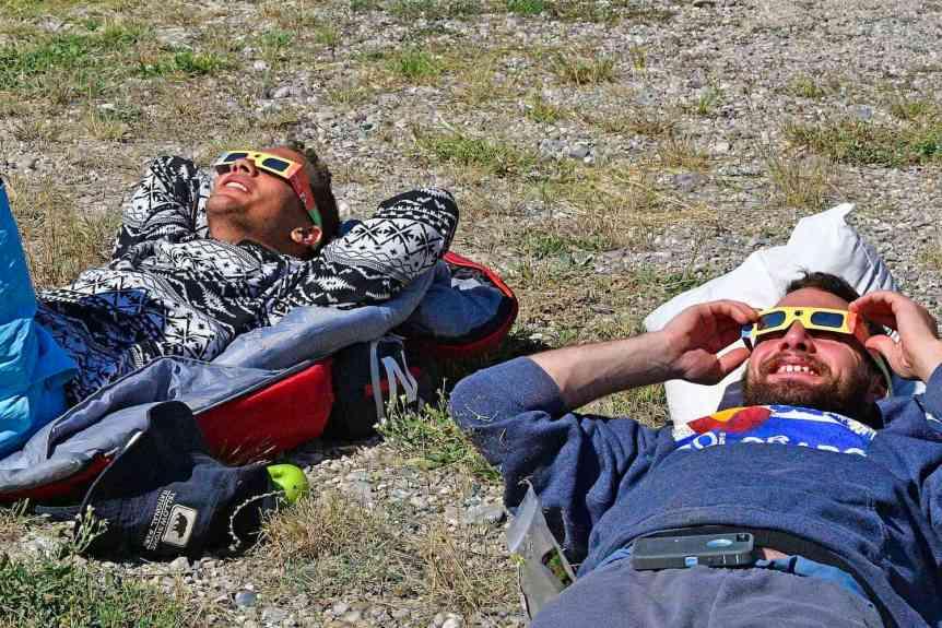 Solar Eclipse Viewing - USFWS Mountain-Prairie via Flickr