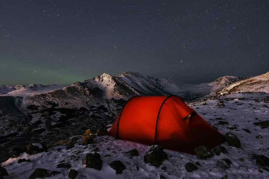 Stargazing in Anchorage - Flattop - Paxson Woelber via Flickr