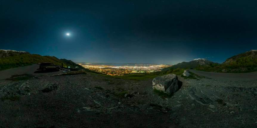 Stargazing near Salt Lake City - Kate Wellington via Flickr