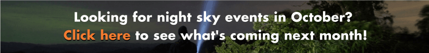 Night Sky in October Banner