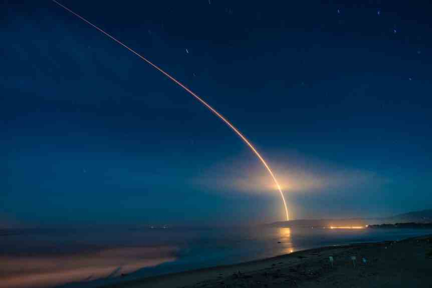 NASA Insight Launch - Glenn Beltz via Flickr