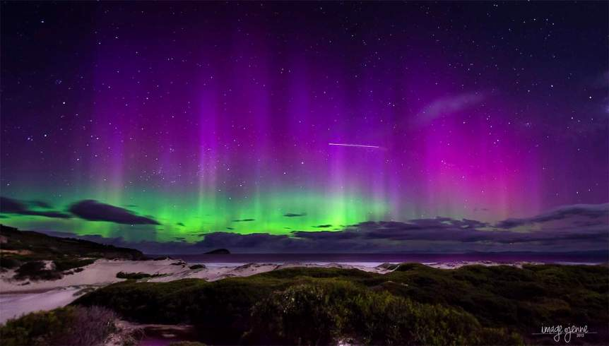 Southern Lights in Australia - Jenne via Flickr