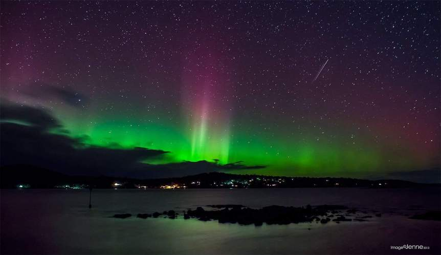 Southern Lights in Australia - Jenne via Flickr