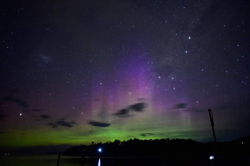 Southern Lights in Australia - will standring via Flickr