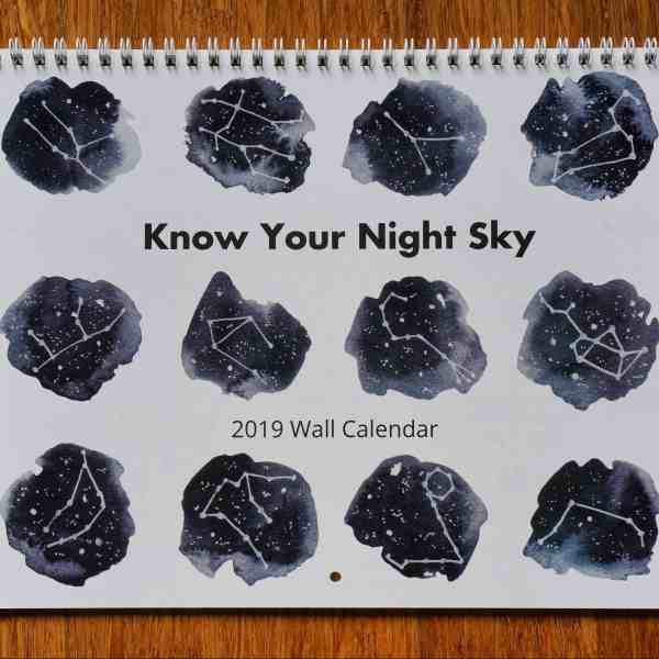 2019 Wall Calendar Featured