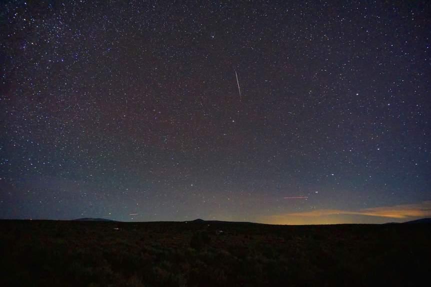 Night Sky December - Ursids - Mike Lewinski via Flickr