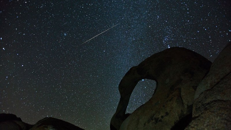 Night Sky December - Geminids - Henry Lee via Flickr