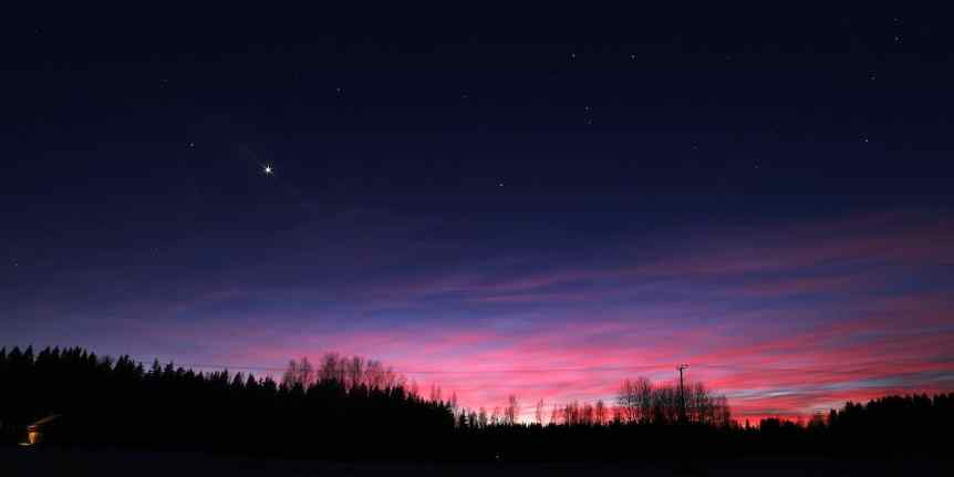Night Sky December - Mars & Neptune - Auvo Korpi via Flickr