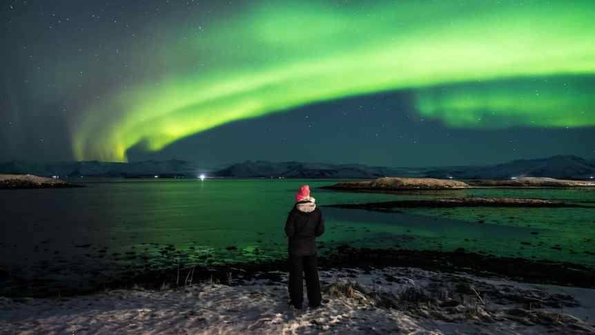 Seeing the Northern Lights near Reykjavik, Iceland - Giuseppe Milo via Flickr