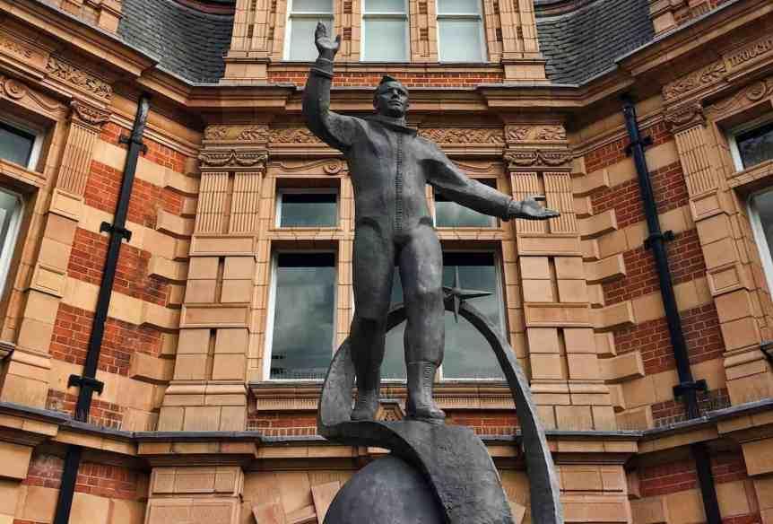 Royal Observatory Greenwich - Gagarin Statue