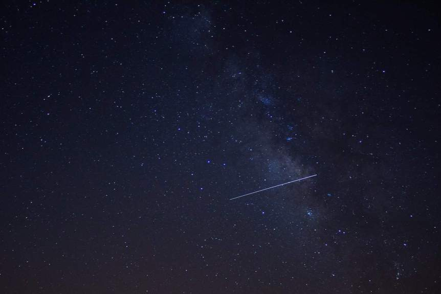 Lyrid Meteor Shower - Islam Hassan via Flickr