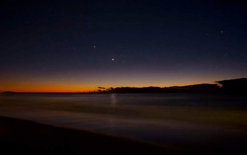 Night Sky in January - Venus - Nigel Howe via Flickr
