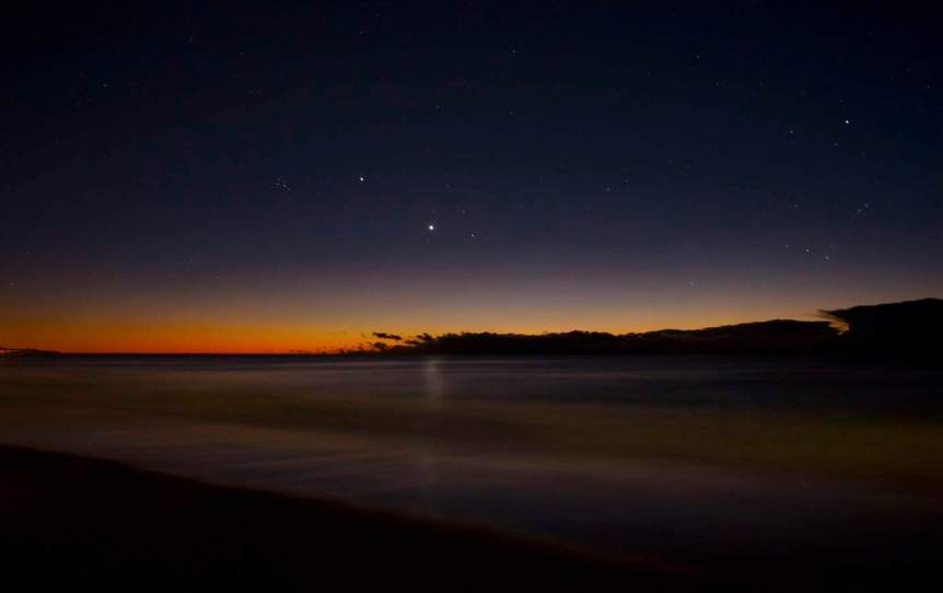 Night Sky in January - Venus - Nigel Howe via Flickr