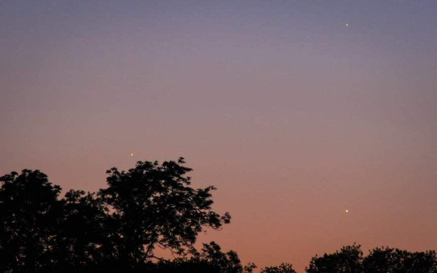 Mercury in Evening Sky - sagesolar via Flickr
