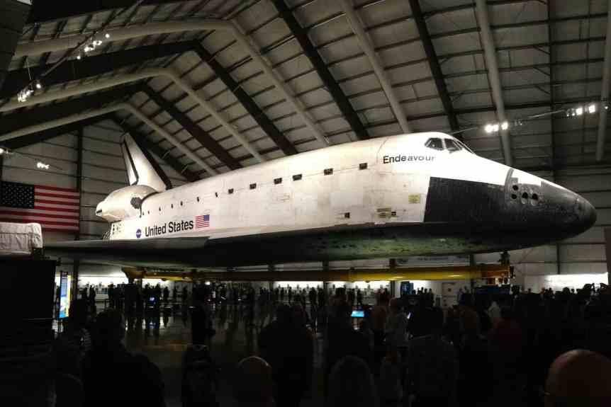 Space Shuttle Endeavour - edward stojakovic via Flickr