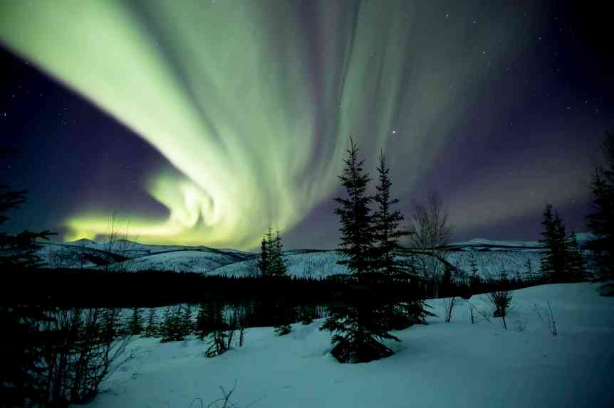 Northern Lights in Alaska - Beaver Creek Wild and Scenic River - BLM via Flickr 2